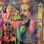 Milbby y René Mäkelä, el artista de las celebrities, presentan la obra que homenajea a Almería